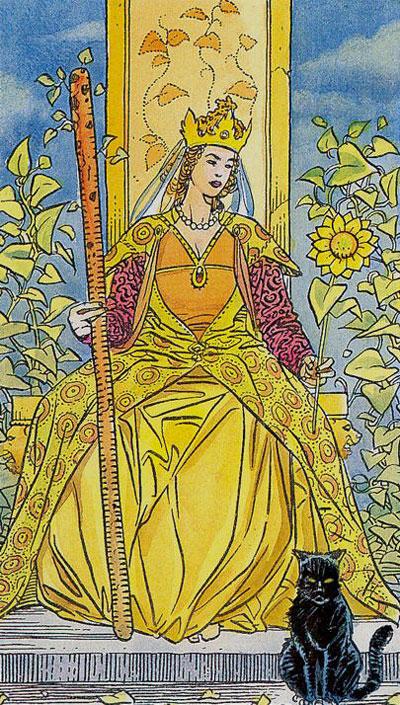 Королева Жезлов Иаро