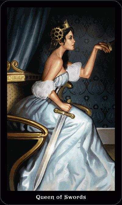 Королева Мечей в раскладах на отношения
