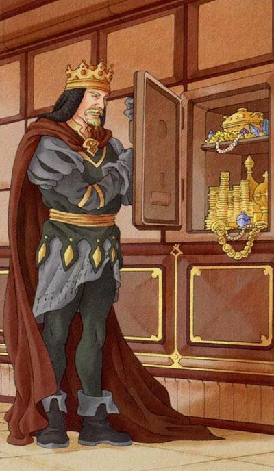 Король Пентаклей Таро 78 дверей